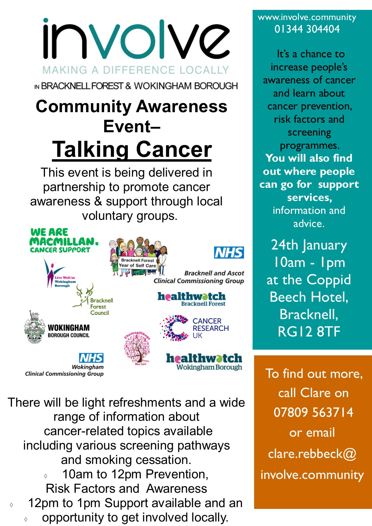 FINAL Talking Cancer Awareness Event Leaflet 003
